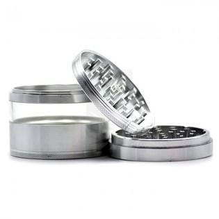 Grinder Coney Premium XXL Aluminio Plata