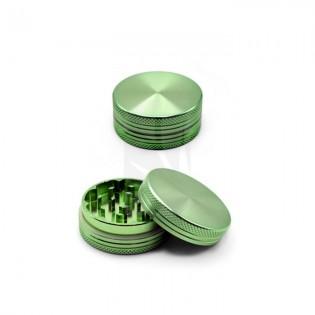 Grinder Aluminio Verde CNC 40 mm. 2 Partes