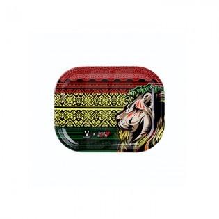 Bandeja Rasta Lion Peq. 18 x 14 cm.