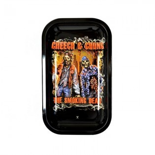 Cheech And Chong Rolling Tray, Large (L 27 cm/W 16 cm)
