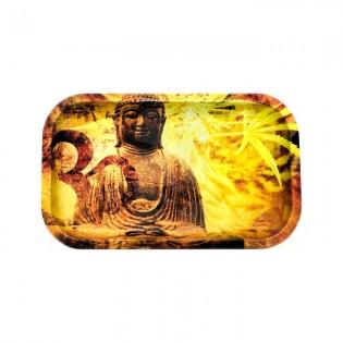 Bandeja Buddha Hemp Leaf Grande 27x16