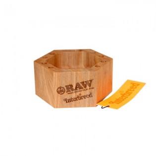RAW Cenicero de madera
