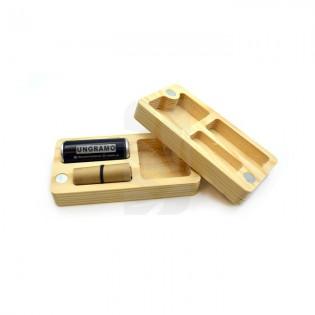 Caja madera con Alu Slim R36 UG