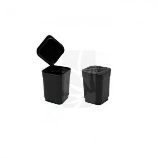 Pop Top cuadrado Negro mate - 1 gr