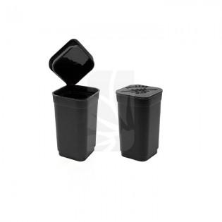 Pop Top cuadrado Negro mate - 2.5 gr