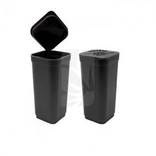 Pop Top cuadrado Negro mate - 7 gramos