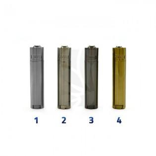 Mechero CLIPPER Micro Metal silver/gold