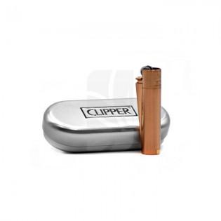 Mechero Clipper Micro Metal Rose Gold