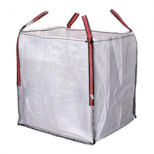 Big Bag Escombros 90x90x90 cm. Blanco hasta 1000 kg