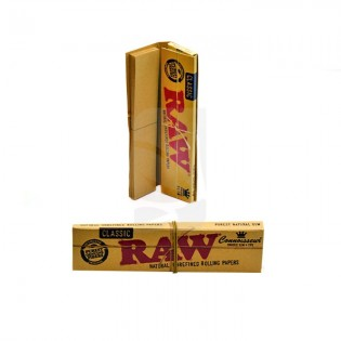 RAW Connoisseur King Size Classic + tips