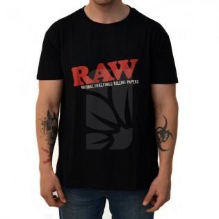 Camiseta RAW Negra