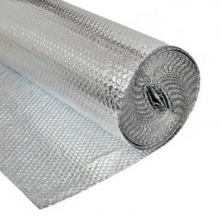 PLASTICO REFLECTANTE AISLANTE TERMICO 1,2 X 15 METROS
