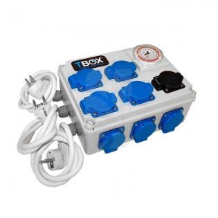 Temporizador TEMPOBOX 12 x 600W C/ Toma Calentador