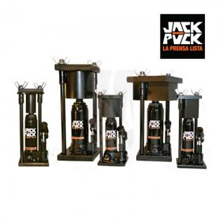 prensa jack puck 2 ton redonda pequeña