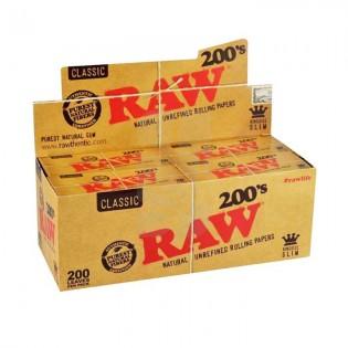 RAW Papel KS Slim 200 (40 libritos)