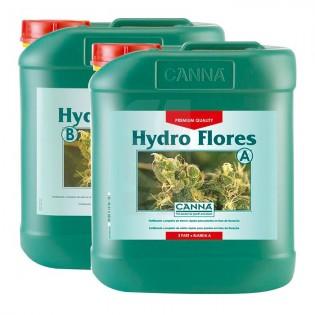 HYDRO FLORES A+B 5 L AGUA BLANDA CANNA