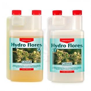 HYDRO FLORES A+B de 1 Litro. AGUA BLANDA CANNA