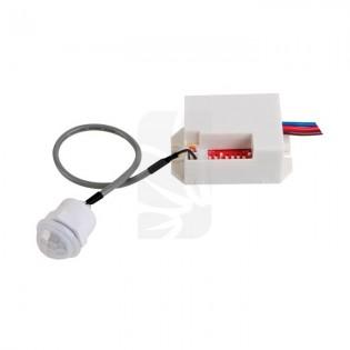 Detector empotrable movimiento c/ajustes tiempo y luz