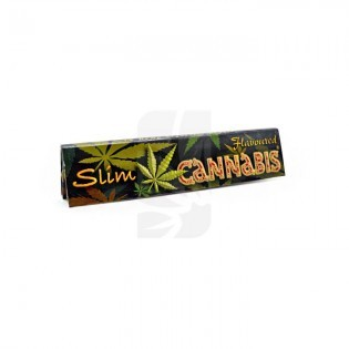 Papel fumar Cannabis Flavoured Papers K.S. Slim