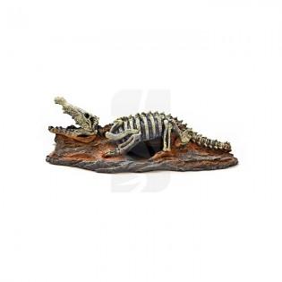 Adorno Acuario - Esqueleto Cocodrilo 20x8x6 cm.