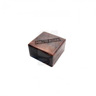 Caja madera Amsterdam pequeña