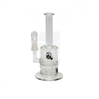 Bong de cristal BIO Hazard 18 cm. Mini Straight Neck Capsule