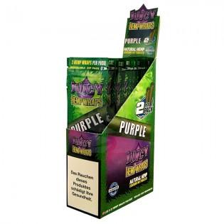 Blunt Juicy Purple Hemp Wraps CAJA 25u.