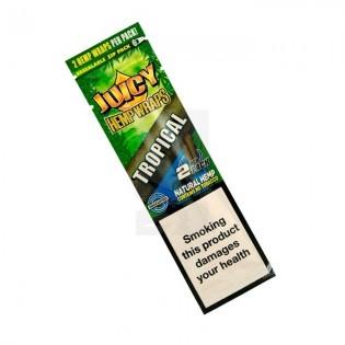 Blunt Juicy Hemp Wraps Tropical 1u.