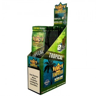 Blunt Juicy Hemp Wraps Tropical CAJA 25u.