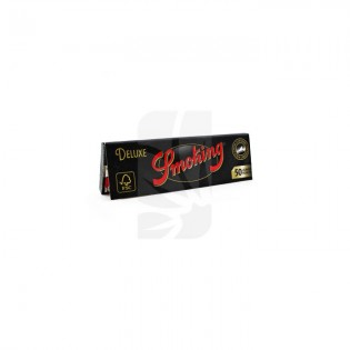Papel fumar Smoking DeLuxe 1¼, (Black)