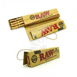 RAW Connoisseur Slim + Pre Rolled