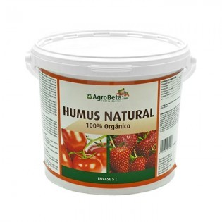 Humus Natural Solido 5 Lts. Agrobeta