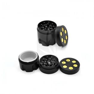 Grinder cargador negro 30mm. 3 partes