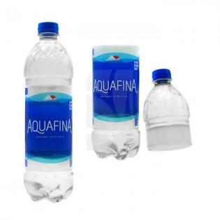Bote Ocultación. Botella de agua