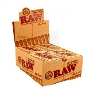 RAW Filtros Pre Rolled Cone CAJA