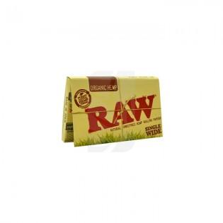 RAW Single Wide Double Orgánico