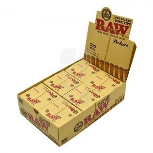 RAW Tips Cone Prerolled CAJA
