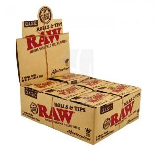 Raw Masterpiece Rollo+Filtros Caja 6ud