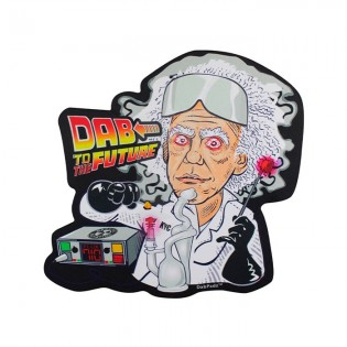DabPadz Die cut Dab Mat 10'' Dab the Future
