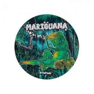 DabPadz redondo 8'' Mariguana