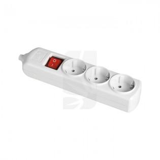 Base bipolar 3 tomas c/ T/T lateral Interruptor