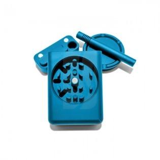 Grind Case Aluminum Dugout. Azul
