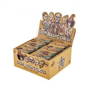 Caja Filtro Natural Lion Rolling Circus