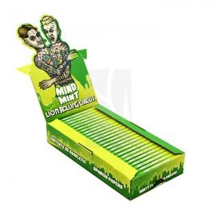 Caja Papel Flavours 1.25 Mind Mint LRC