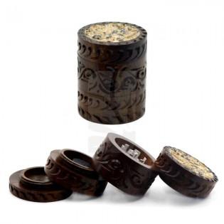 Grinder madera, piedra y aluminio, 4 partes 43x52mm