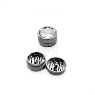 Grinder con iman 2 partes gris 30 mm.