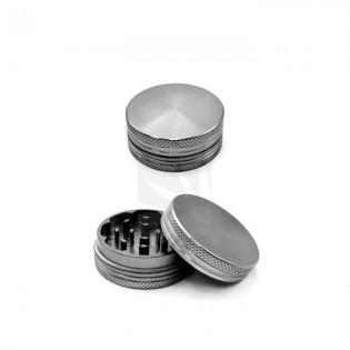 Grinder con iman de 2 partes gris. 40 mm.