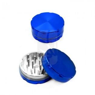 Grinder de luxe de 2 partes azul 50mm.