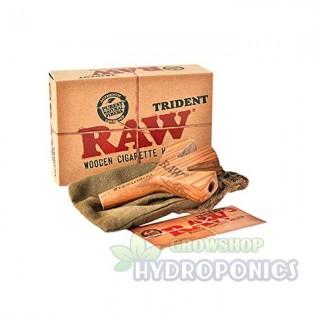 RAW Trident Wooden Cigarrillo Holder