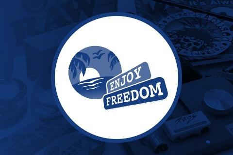 Papel de fumar Enjoy Freedom